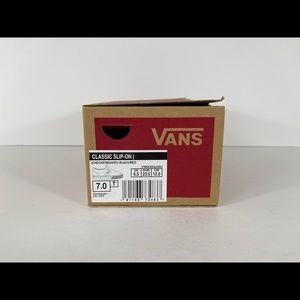 Vans Shoes - Vans Classic Slip-On Checkerboard Sneakers